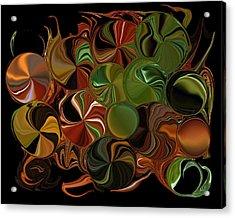 Candy Dish Acrylic Print by Steven Richardson