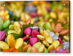 Candy Flowers Acrylic Print