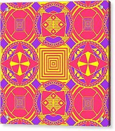 Candy Wrapper Acrylic Print by Sumit Mehndiratta