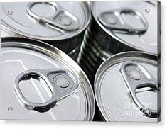 Canned Food Acrylic Print