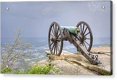 Cannon 2 Acrylic Print by David Troxel