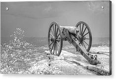 Cannon Acrylic Print by David Troxel