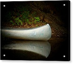 Canoe Acrylic Print by Joyce Kimble Smith