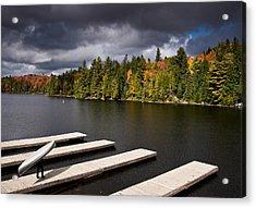 Canoe Lake Acrylic Print by Cale Best