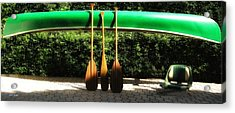 Canoe To Nowhere Acrylic Print