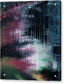Can't See The Forest For The Rain Acrylic Print