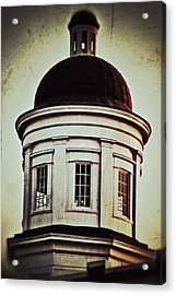 Acrylic Print featuring the photograph Canton Courthouse Dome by Jim Albritton