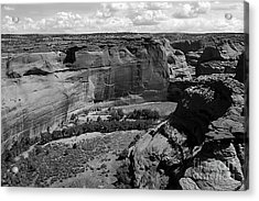 Canyon De Chelly White House Acrylic Print by Barry Shaffer