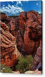 Canyon Glow Acrylic Print by Rick Berk