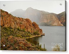 Acrylic Print featuring the photograph Canyon Lake by Tam Ryan