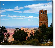 Canyon Look Out Acrylic Print