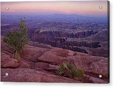 Canyonlands At Dusk Acrylic Print by Andrew Soundarajan