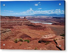 Acrylic Print featuring the photograph Canyonlands by Dany Lison
