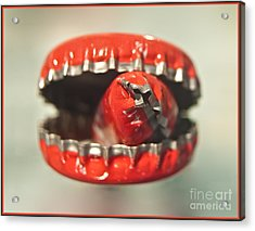 Cap Cannibal Acrylic Print by Bruce Stanfield
