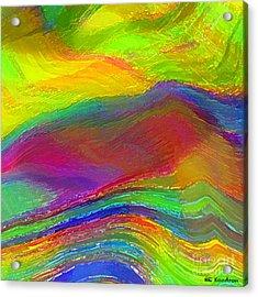 Capacious Acrylic Print by ME Kozdron