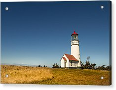 Cape Blanco Lighthouse Acrylic Print by Randy Wood