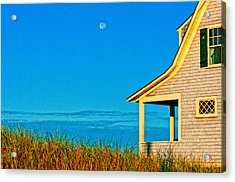 Cape Cod Bay House Acrylic Print by Linda Pulvermacher