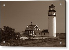 Cape Cod Lighthouse Acrylic Print by Skip Willits