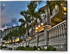 Acrylic Print featuring the photograph Cape Coral Marina And Resort by Timothy Lowry