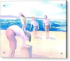 Cape Explorers Acrylic Print by Joseph Gallant