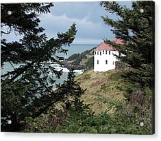 Cape Foulweather Clouds Acrylic Print
