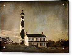 Cape Lookout Acrylic Print by Joye Ardyn Durham