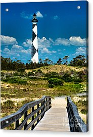 Cape Lookout Light Acrylic Print