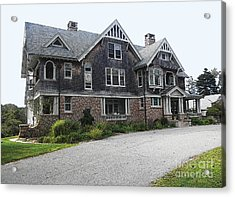 Cape Mansion Acrylic Print by David Klaboe