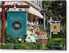 Cape May Bed And Breakfast Acrylic Print by John Greim