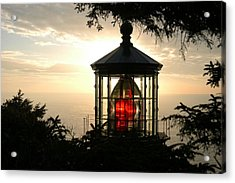 Cape Meares At Sunset Acrylic Print