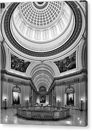 Capitol Interior Acrylic Print by Ricky Barnard