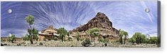 Acrylic Print featuring the photograph Capitol Reef Cloud Show by Gregory Scott