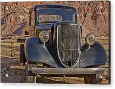 Capitol Reef Truck Acrylic Print