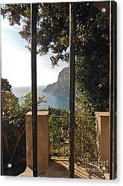 Capri Acrylic Print by Italian Art