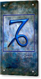 Capricorn  Acrylic Print by Mauro Celotti