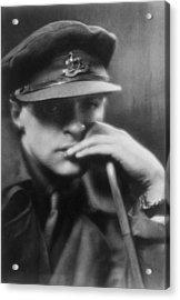Captain Bruce Bairnsfather 1888-1959 Acrylic Print by Everett