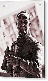Acrylic Print featuring the photograph Captain F J Walker by Meirion Matthias
