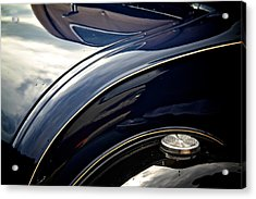Car Abstract Acrylic Print by Odd Jeppesen