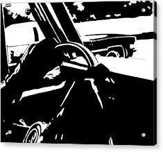 Car Passing Acrylic Print