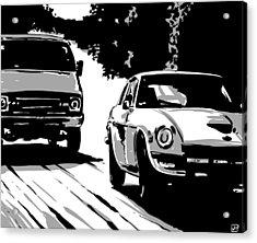 Car Passing Nr 2 Acrylic Print