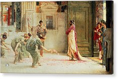 Caracalla Acrylic Print by Sir Lawrence Alma-Tadema