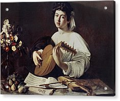 Caravaggio: Luteplayer Acrylic Print by Granger