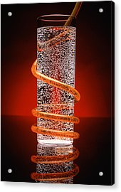 Carbonated Drink Acrylic Print by Victor De Schwanberg