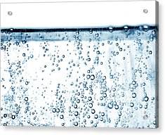 Carbonated Water Acrylic Print by Photo Researchers, Inc.
