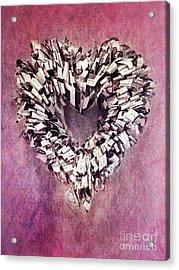 Cardia Acrylic Print by Priska Wettstein