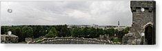 Cardiff Castle Panorama Acrylic Print