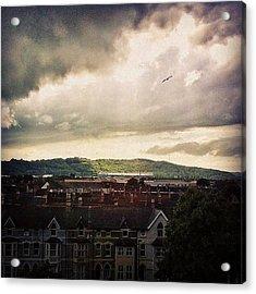 Cardiff City Acrylic Print