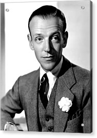 Carefree, Fred Astaire, 1938 Acrylic Print by Everett