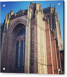 #carhederal #church Acrylic Print
