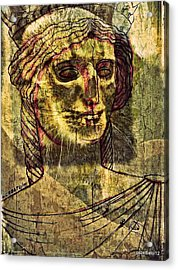 Cariatides Muertas II Acrylic Print by Paulo Zerbato